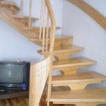 schody jesionowe